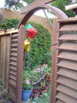 Balloons Festoon the Garden