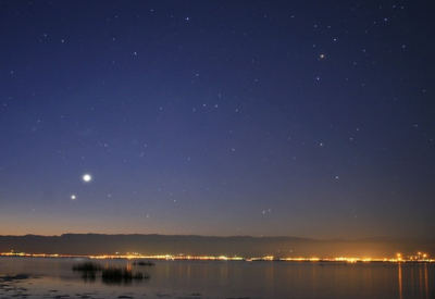 Venus Jupiter Conjunction; NASA photo