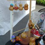 Gourd Art at Craft Faire