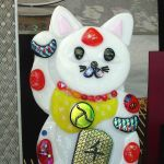 Kitty at Art Faire