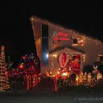 Christmas Lights, Santa Cruz California