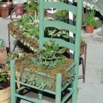 Planter Chair at Farmer's Market