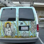 Artful Van Full Rear View