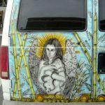 Artful Van Close-up