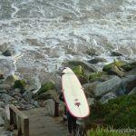 Surfer, Pleasure Point, Santa Cruz