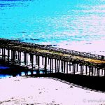 Colorized Rendering: Seacliff Pier