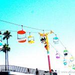 Colorized Rendering; Santa CruzBoardwalk