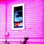 Colorized Broken Window