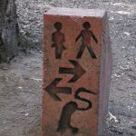 Confusing Hiking Path Sign