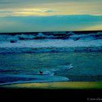 Colorized Rendering; Winter Ocean