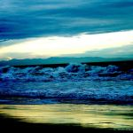 Colorized Rendering; Sky, Waves, Reflection
