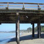 Colorized Rendering; Pier, Seacliff Beach Aptos California
