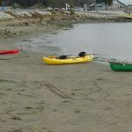 Kayaks, Moss Landing Harbor, California