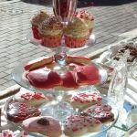 Bakery Window for Valentine's Day, Carmel California