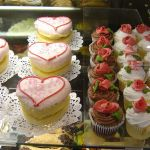 Bakery Case at Whole Foods Valentine's Day