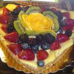 Valentine's Fruit tart