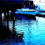 Colorized Rendering; Santa Cruz Harbor