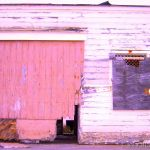 Colorized Rendering; Old Building Fort Ord, Monterey County