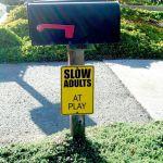 Funny Parody Sign, Seacliff Neighborhood, Aptos, California