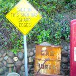 Funny sign, Aptos, California