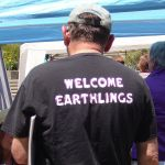 Shirt at Dowsing Conference, UC Santa Cruz
